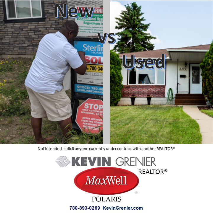 New or Used? Kevin Grenier REALTOR®